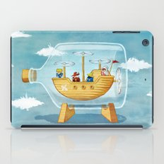 AIRSHIP IN A BOTTLE iPad Case