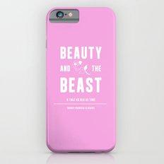 Disney Princesses: Beauty and the Beast Minimalist iPhone 6 Slim Case