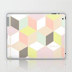 pastel cubes  Laptop & iPad Skin