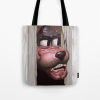Heeere's Goofy! Tote Bag