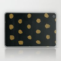 GOLD DOTS Laptop & iPad Skin