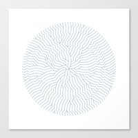 #366 The nautilus fracture – Geometry Daily Canvas Print