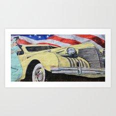 Walnut Creek Art Print