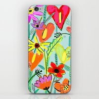 Wild Garden iPhone & iPod Skin