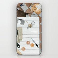 Breakfast and Fox iPhone & iPod Skin