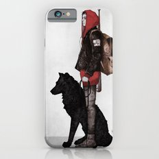 The boy and the wolf iPhone 6 Slim Case