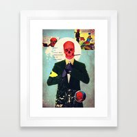 What Is This Mad Obsession With Freedom? Framed Art Print