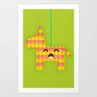 Party Piñata Art Print