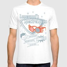 SpectreSpecs Mens Fitted Tee SMALL White