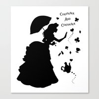 Curiouser And Curiouser Canvas Print