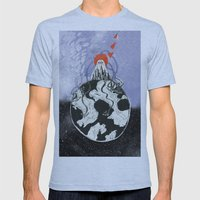 zoiz Mens Fitted Tee Athletic Blue SMALL