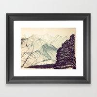 Mount Princeton  Framed Art Print