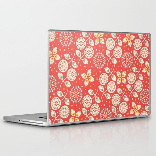 Vintage Flora Laptop & iPad Skin