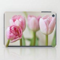 Soft tulips iPad Case
