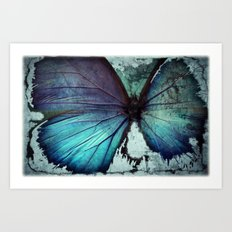Abstract Butterfly Art Print