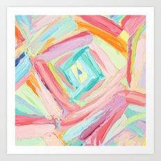 Trapezium Art Print