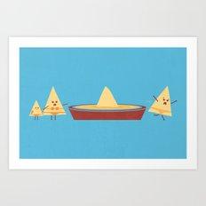 Dun Dun Dun Art Print