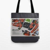 Hand-Drawn Munich Tote Bag