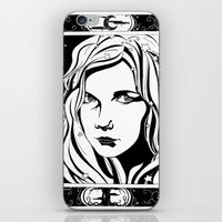 With Stars In Her Hair iPhone & iPod Skin