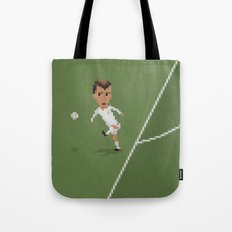 Zidane's volley Tote Bag