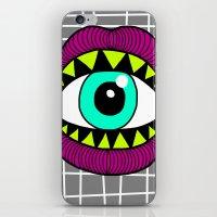Eye'm Gonna Eat You iPhone & iPod Skin