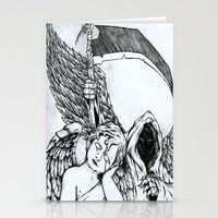 Death Is Everywhere Stationery Cards