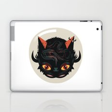 Devil cat Laptop & iPad Skin