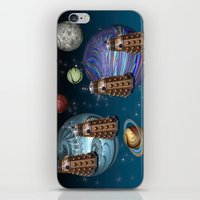 March Of The Daleks iPhone & iPod Skin