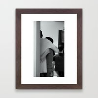 The Embrace Framed Art Print