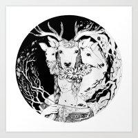 Charpatian Soul Art Print