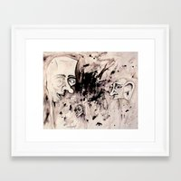 Chaos Shows Details Framed Art Print