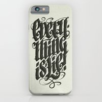 iPhone & iPod Case featuring Everything... by Dr. Lukas Brezak