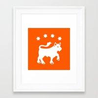 LINDSTROM Framed Art Print
