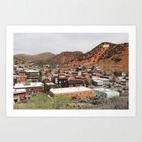 Bisbee, Arizona Art Print