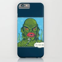 iPhone & iPod Case featuring The Sultry Lagoon by Hillary White