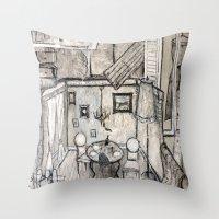 Artdeco Throw Pillow