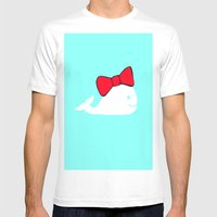 Whale Mens Fitted Tee White SMALL
