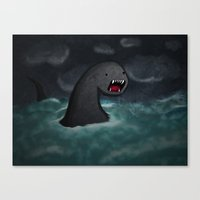 Mar Beast Canvas Print