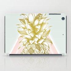 Golden Pineapple iPad Case