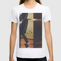 With Her Womens Fitted Tee Ash Grey SMALL