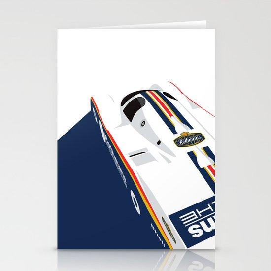 Porsche 962C, 1985 Stationery Card