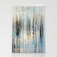 Grasses in the sky Stationery Cards
