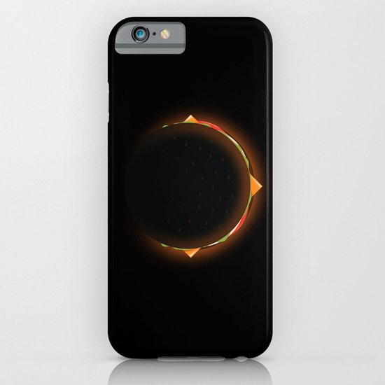 Burger Eclipse iPhone & iPod Case