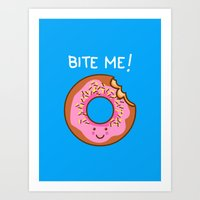 Tasty Comeback Art Print