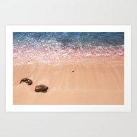 Rocky Cayman Islands Art Print