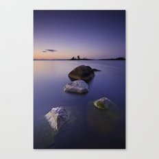 Submerged in Indigo Canvas Print