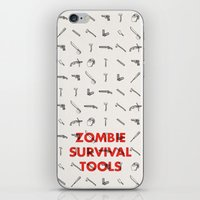 Zombie Survival Tools - … iPhone & iPod Skin