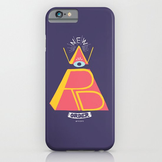 New Word Order! iPhone & iPod Case