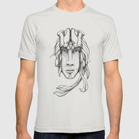 Sieldonja Re:Merging Mens Fitted Tee Silver SMALL