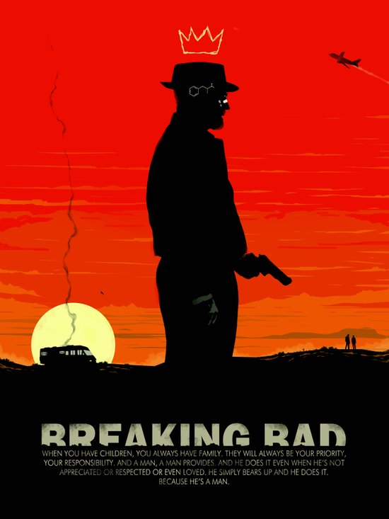 Break Bad - Heisenberg Canvas Print